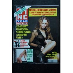 CINE TELE REVUE 1995 05 n° 25 COVER JEAN-CLAUDE VAN DAMME CINDY CRAWFORD TOPLESS PATRICK BRUEL ELISABETH MONTGOMERY