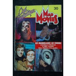Ciné Fantastique MAD MOVIES n° 30 * 1984 * LES MAQUILLAGES AU CINEMA Phantom of the paradise