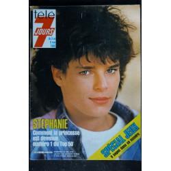 Télé 7 Jours 1343 1986 Bernard TAPIE Cover + 3 pages - Giraudeau - Mireille - Broomhead