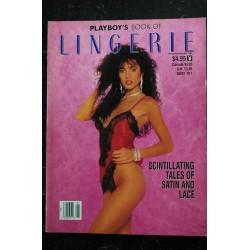 PLAYBOY'S LINGERIE 1991 01 JAN/FEB ALICIA SANCHEZ BRENDA JONES LEANDRA STEVENS NUDE