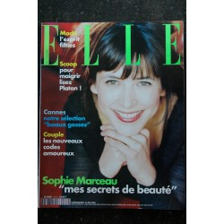 ELLE 2778 29 mars 1999 cover Carole BOUQUET Gérard DEPARDIEU + 6 p. Karl LAGERFELD Le bal de la Rose