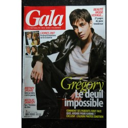 GALA 726 Grégory Lemarchal Cover + 6 p. - Ingrid Chauvin Kate Moss