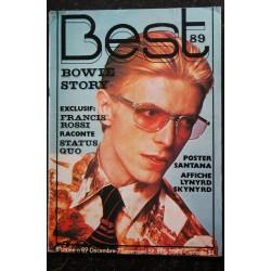 BEST 087 N° 87 octobre 1975 SANTANA ORANGE 75 EDDY MITCHELL BRYAN FERRY