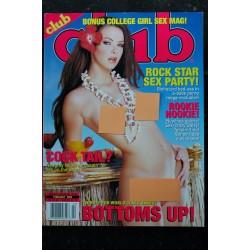 Club Ed. US Vol. 29 n° 10 November 2003 JULIA - AVERY - MARI & SIMONE - CHELSEA - MERCEDEZ - NATALIA - ANDER