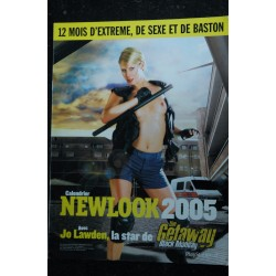 NEWLOOK CALENDRIER 2005 JO LAWDEN NUDE THE GETAWAY BLACK MONDAY EROTISME PHOTOS