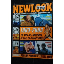 NEWLOOK EDITION COLLECTOR SPECIAL ANNIVERAIRE GRAND FORMAT 1983/2003 68 PAGES