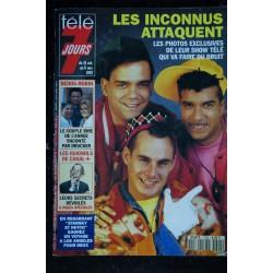 Télé 7 Jours 1699 1992 Mylène FARMER Cover + 4 pages - Jean-Claude BRIALY - Bachelet - Mister T