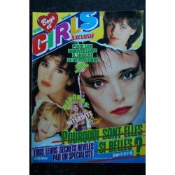 BOYS et GIRLS n° 204 24 au 30 nov. 1983 Annie Lennox Eurythmics Cover + 2 p. - Flirt - Les Koeurs