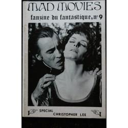 Ciné Fantastique MAD MOVIES n° 9 1974 10 Fac-Similé - Spécial Christopher Lee -