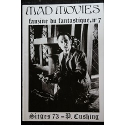 Ciné Fantastique MAD MOVIES n° 7 1974 01 Fac-Similé - Sitges 73 - P. Cushing - Brides of Dracula