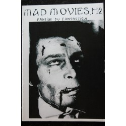 Ciné Fantastique MAD MOVIES n° 2 1972 09 - Fac-Similé - John Gilling - Horror of Frankenstein - twins of evil