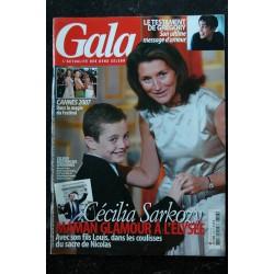 GALA 728 Grégory Lemarchal 3 p. - Cecilia Sarkozy à l'Elysée - Cannes 2007