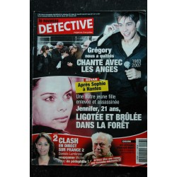 Le nouveau DETECTIVE n° 1286 - 9 mai 2007 - Grégory Lemarchal Cover + 3 p.