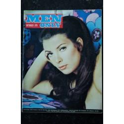 MEN ONLY 1968 10 - TRES RARE VINTAGE - Nancy Gates - Helen Jones - Jill Quandt