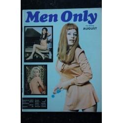 MEN ONLY 1969 08 - TRES RARE VINTAGE - ELKE SOMMER ALTHEA BROWNNE Karen LIQUIST Chyslaine GERER