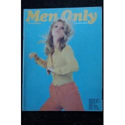 MEN ONLY 1970 09 - TRES RARE VINTAGE - Dominique Sanda - Therese Gilmour - Juliet Bruneau
