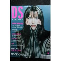 DS MAGAZINE 47 - avril 2001 Sophie Marceau Cover + 8 p. - Julia roberts - Patrice Chéreau - Les roms du Kosovo - 170 pages