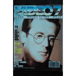 VIDEO 7 099 1990 COVER SYLVESTER STALLONE NATALYA NEGODA SULITZER CHABROL + CAHIER EROTIC