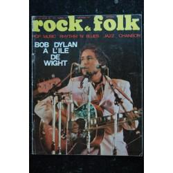 ROCK & FOLK 033 OCTOBRE 1969 COVER BOB DYLAN A L'iLE DE WIGHT