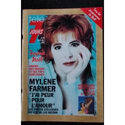 Télé 7 Jours 1357 1986 PLATINI Cover + 3 pages - Dorothée - Pavarotti - Claude RICH