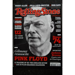 ROLLING STONE L 14199 69 PINK FLOYD - U2 - Stones 74 Léonard Cohen Woody Allen Nick Cave Julia Louis-Dreyfus - 2014 11