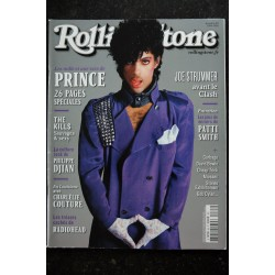 ROLLING STONE L 14199 85 PRINCE Cover + 26 p. - The Kills P. Djian Charlélie Couture Joe Strummer Clash Patti Smith - 2016 06