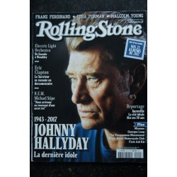 ROLLING STONE L 14199 101 Johnny Hallyday R.E.M. M Stipe Eric Clapton Ezra Furman Malcolm Young - 2018 01