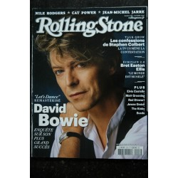 ROLLING STONE L 14199 108 David Bowie S Colbert Nile Rodgers Cat Powe Jean-Michel Jarre - 2018 10