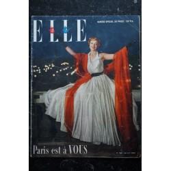 ELLE 186 20 juin 1949 - Dani Robin Cover Paris est à VOUS mousseline de Jacques GRIFFE - 36 pages FASHION VINTAGE