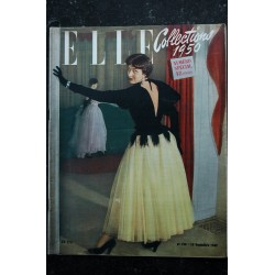 ELLE 198 15 sept. 1949 - Collections 1950 - 48 pages FASHION VINTAGE