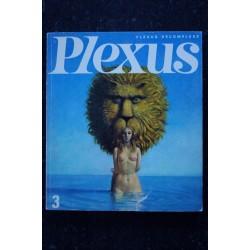 PLEXUS 3 * 1966 * FRANCOISE GILOT RENE GOSCINNY RITA RENOIR BORIS VIAN ALAUX BILL BRANDT