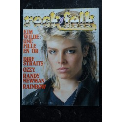 ROCK & FOLK 193 KIM WILDE DIRES SRAITS OZZY RANDY NEWMAN RAINBOW