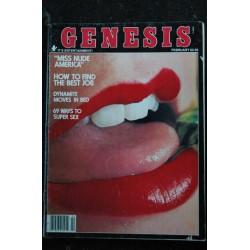 Genesis 1978 / 02 Marilyn Chambers Miss Nude America - Alvan Adams - Hilda Valerie Kim - Erotic Vintage