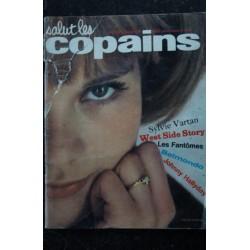 Salut les Copains N° 8 * 03 1963 * COMPLET * Johnny Hallyday SYLVIE VARTAN Les Fantomes BELMONDO