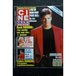 CINE TELE REVUE 1991 10 10 n° 41 Roch VOISINE Frédéric FRANCOIS Al PACINO Terminator 2 Les feux de l'amour