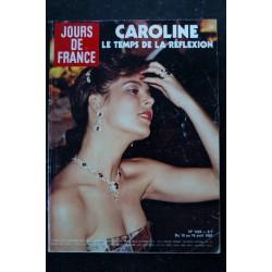 JOURS DE FRANCE 1423 10 au 16 avril 1982 CAROLINE Cover + 4 p. - Liz Taylor R. Burton - K. Hepburn - Thierry Le Luron