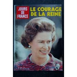 JOURS DE FRANCE 1438 24 au 30 juil. 1982 ELISABETH Cover + 6 p. - Patrick DEWAERE - Battiston