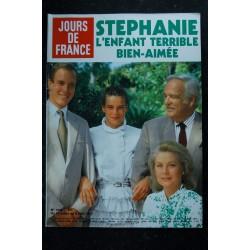 JOURS DE FRANCE 1439 31 juil. au 6 août 1982 Stephanie Cover + 6 p. - Richard Burton - Henri Salvador - Chantal GOYA 4 p.