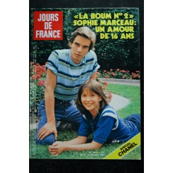 JOURS DE FRANCE 1359 1981 SOPHIE MARCEAU Cover + 8 pages Marlène Jobert Fernandel