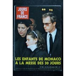 JOURS DE FRANCE 1451 23 au 29 oct. 1982 Les enfants de Monaco Cover + 9 p. DEVOS 4 p. Robert Hossein Schoendoerffer