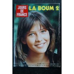 JOURS DE FRANCE 1442 1982 SOPHIE MARCEAU Cover + 4 pages PLATINI Henri FONDA