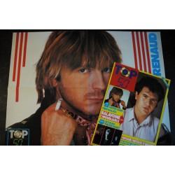 TOP 50 001 MARS 1986 COLLECTOR + POSTERS A-HA DANIEL BALAVOINE INTERVIEW RENAUD MADONNA JEAN-LUC LAHAYE