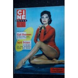 CINE REVUE 1957 n° 25 - Cyd Charisse - Ingrid Bergman - Robert Lamoureux - Annie Girardot - 36 pages - 21 juin 1957