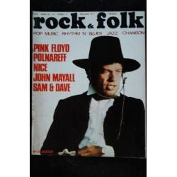 ROCK & FOLK 038 1970 MARS COVER MICK JAGGER ROLLING STONES PINK FLOYD POLNAREFF BARBARA SERGE LAMA NICE JOHN MAYALL