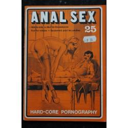 ANAL SEX n° 25 * 1977 * Color Climax Corporation Vintage Erotic Revue Roman Photo Adultes