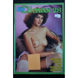 Blue Climax N° 28 * 1984 * 80 pages Color Climax Corporation Revue Roman Photo Adultes