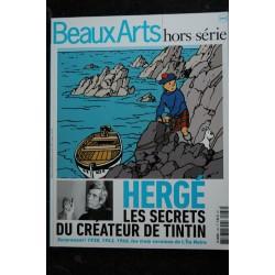 BEAUX ARTS HORS-SERIE 19 2011 HUMOUR & BD COMIQUE CHEZ TINTIN JERGE SECRETS SCENARISTES MEILLEURS GAGS