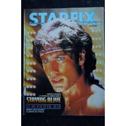 STARFIX 009 1983 COVER JOHN TRAVOLTA + POSTER STAYING ALIVE LE RETOUR DU JEDI GEORGE LUCAS RACONTE LA GUERRE DES ETOILES