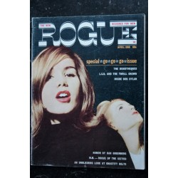ROGUE Vol 11 N° 2 April 1966 - Bob Dylan - Sex & Psychedelics - Mastroianni - A probing look at chastety