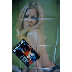 Daily Girl Vol. 2 n° 10 - 1970 - Sexy Paris - Carnaby Street - poster 140 x 80 - SEX - MOVIE - MAGAZINE type Playboy